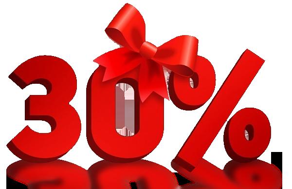 Ккидка 30%